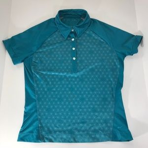 Nike Women's Golf Polo Shirt Size Small